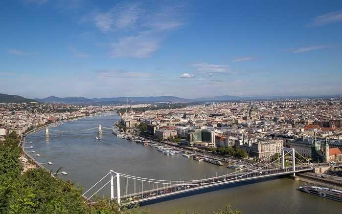 Budapeşte Tuna Nehri