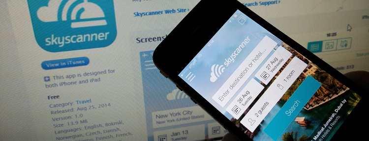 skyscanner ucak bileti