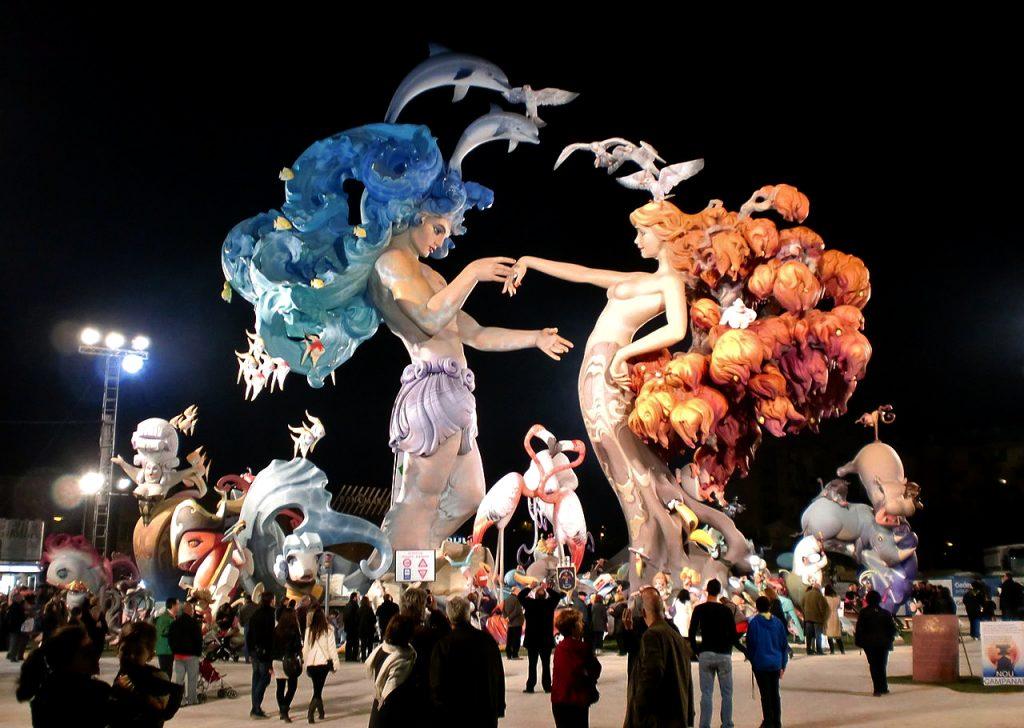 Valensiya Las Fallas Festivali