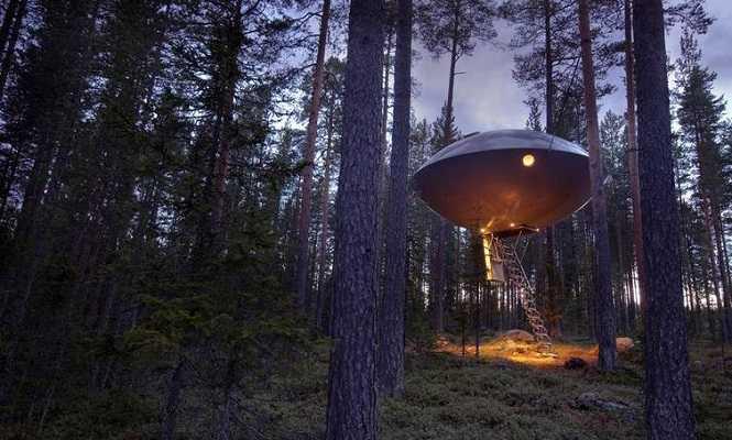 Treehotel, Harads, İsveç