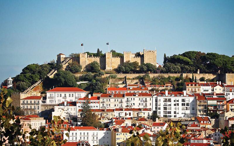 Lizbon-Kalesi-Portekiz