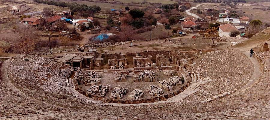 Alabanda Antik Kenti - Manzara