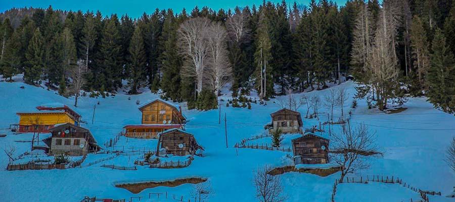 Ayder Yaylası- Kış Mevsimi