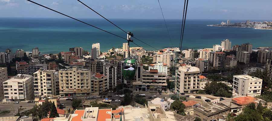 Beyrut Gezi Rehberi - Teleferik