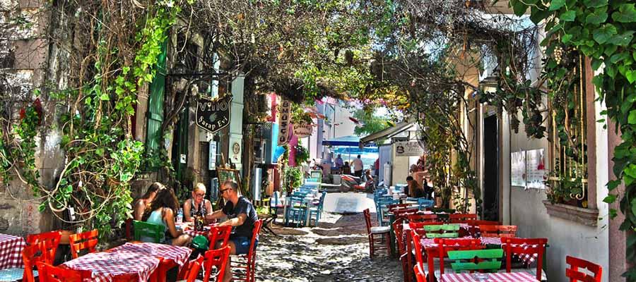 Ege'nin Aşıklar Diyarı Cunda Adası - Sokaklar