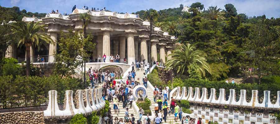 Dünyanın En Güzel Parkları - Park Güell - Giriş