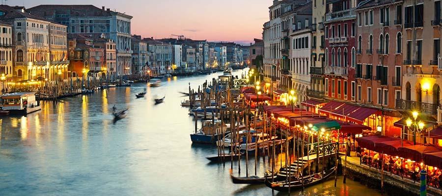 Kanallar Şehri Venedik - Büyük Kanal