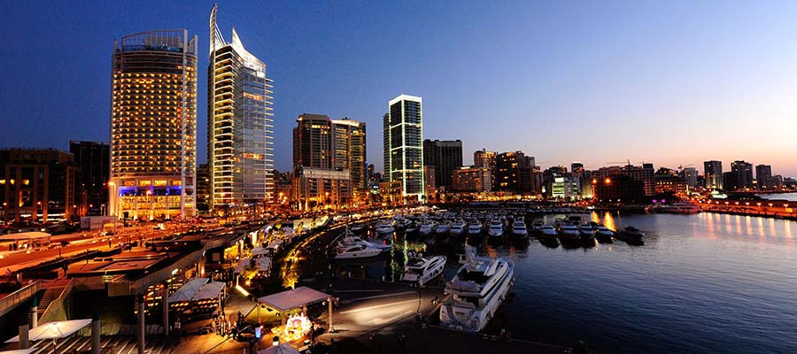 Kış Aylarında Gezilebilecek Yerler - Lübnan - Beyrut - Gece