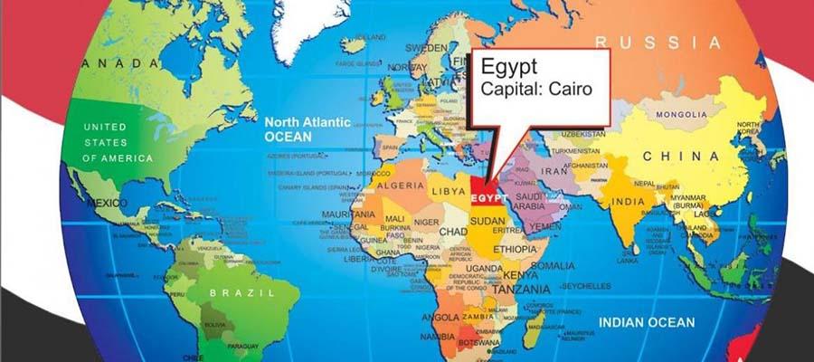 Mısır Gezi Rehberi - Harita