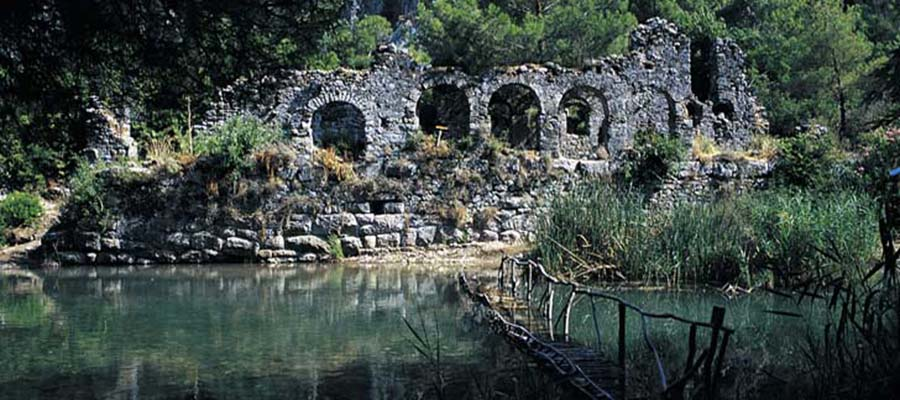 Olimpos - Antik Kent