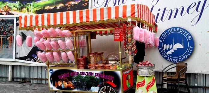 Türkiye'nin Sokak Lezzetleri - Pamuk Şeker
