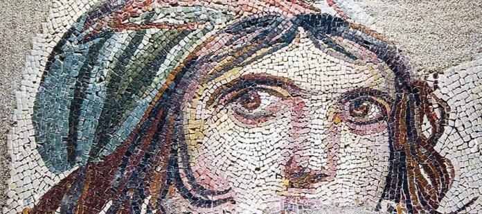 Zeugma Mozaik Müzesi - Çingene Kızı
